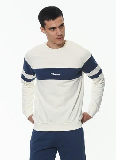 Hummel Erkek Browst Sweatshirt 921042-9973 Beyaz
